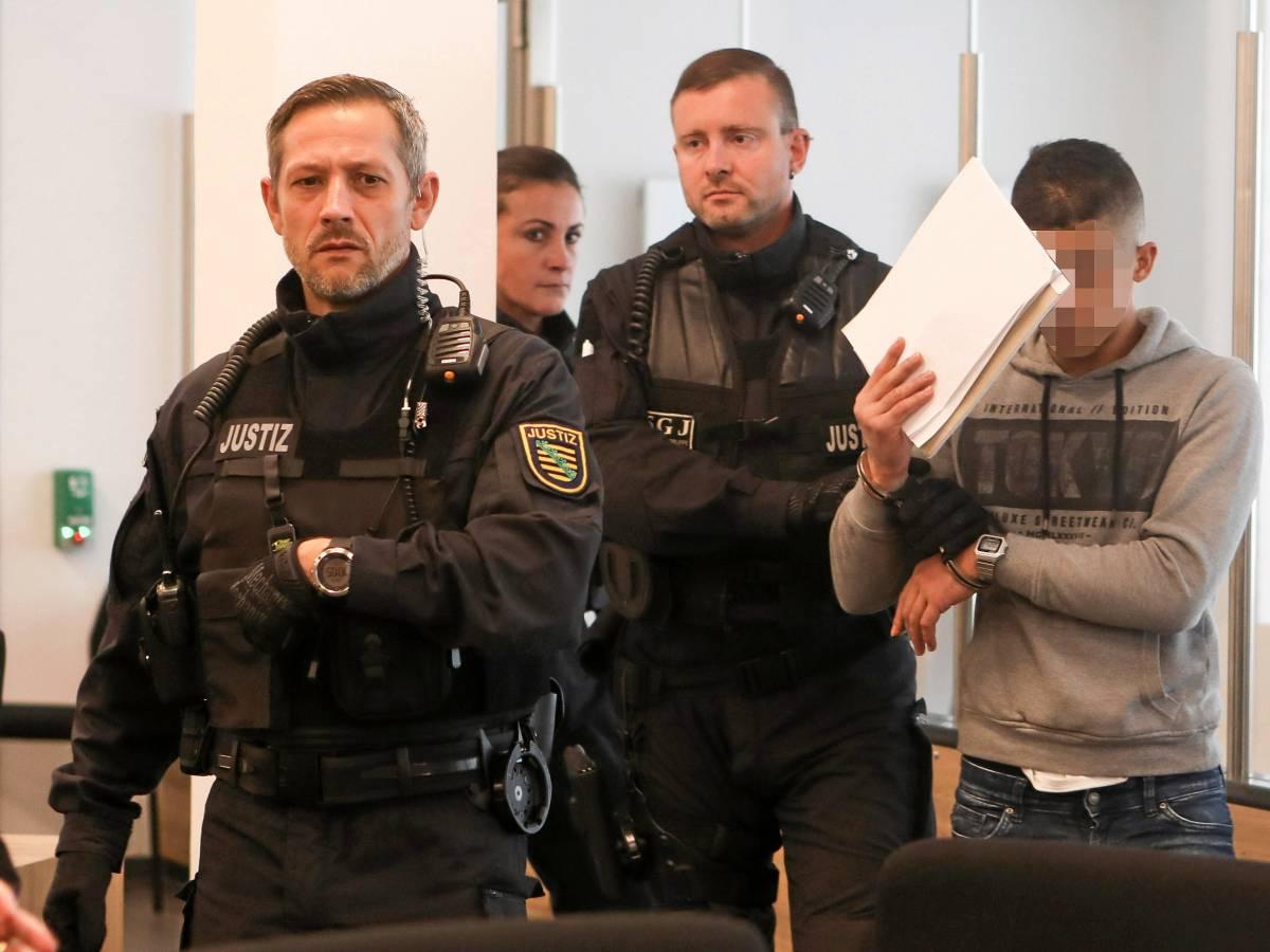 Attentat In Dresden Prozess Gegen Abdullah A H H Begonnen Waz De