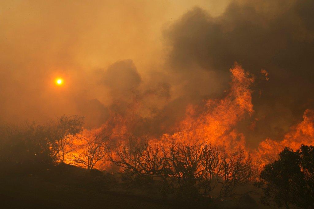 waldbrände kalifornien 2020 karte Online Karte informiert Kalifornien Urlauber über Brände | waz.de
