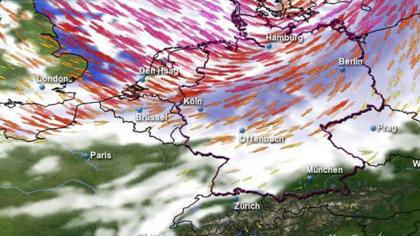 Rechnen Und Raten So Sagen Meteorologen Das Wetter Voraus Wazde
