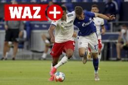 Schalke-Noten: Florian Flick sieht als Abwehrchef nicht gut aus