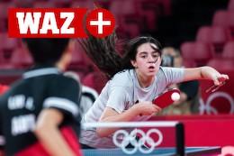 Olympia-Historie: Schnelles Aus für Tischtennis-Küken Zaza