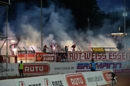 Verletzte und Festnahmen: Fans von Rot-Weiss Essen randalieren in Münster