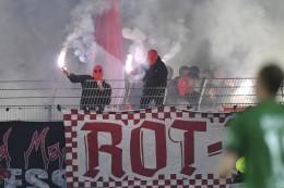 Fans von Rot-Weiss Essen randalieren in Münster: Verletzte und Festnahmen