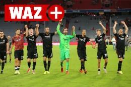 Sieg beim FC Bayern: Frankfurt mit Coup fürs Poesiealbum