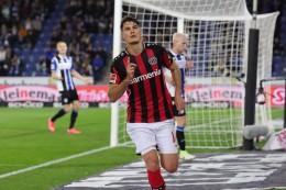 Schick-Doppelpack: Leverkusen mit lockerem Sieg in Bielefeld