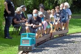 Dampf-Bahn-Club freut sich über den ersten Fahrtag