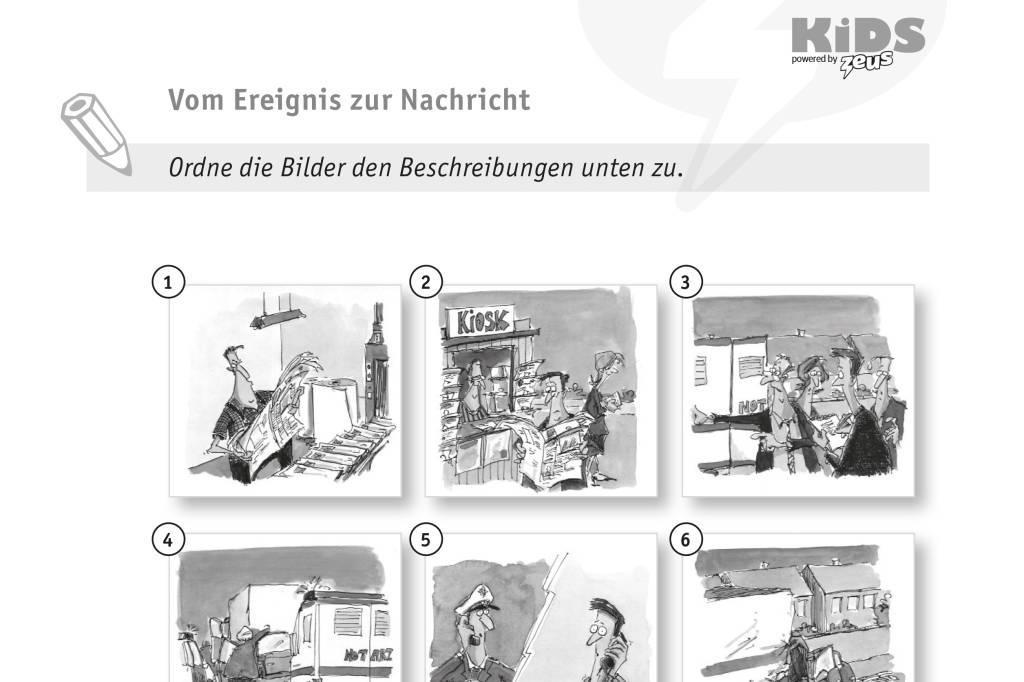 Vom Ereignis zur Nachricht | waz.de | Unterrichtsmaterial