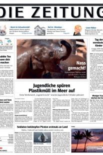 Aufbau Einer Tageszeitung