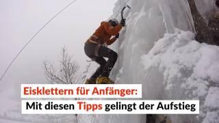 Klettergurt Eisklettern : Von wegen horror kälte u jetzt geht s zum eisklettern waz
