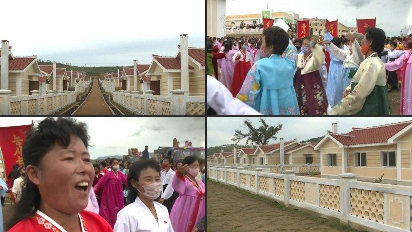 Nordkorea verschenkt Häuser