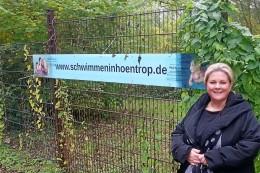 Bochum: Protest gegen das drohende Aus fürs Südpark-Bad