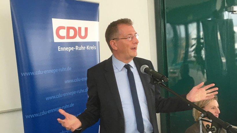 CDU-Parteitag in Witten verpasst Brauksiepe einen Denkzettel - Westdeutsche Allgemeine Zeitung