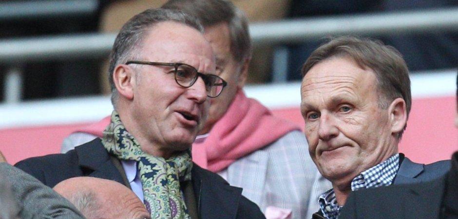 Bayern and BVB without Bundesliga
